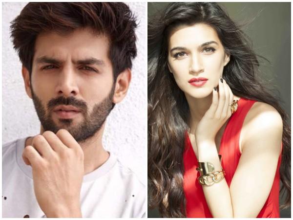Kartik Aaryan, Kriti Sanon prep for 'Luka Chuppi'
