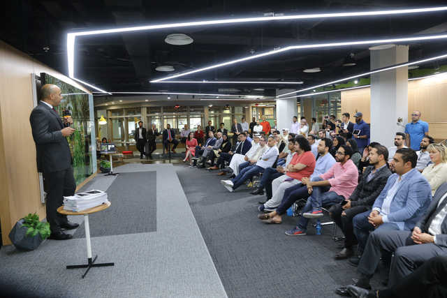 Photo Gallery: Three local start-ups were showcased last night during an open day organised by Brinc 'Internet of Things' accelerator