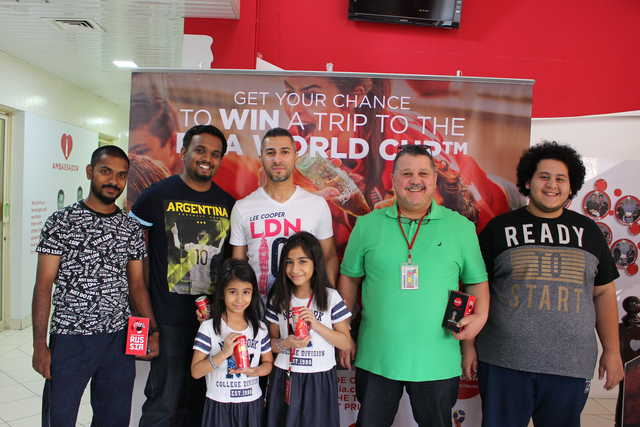 Photo Gallery: Coca-Cola 2018 FIFA World Cup promotion winners share their experience