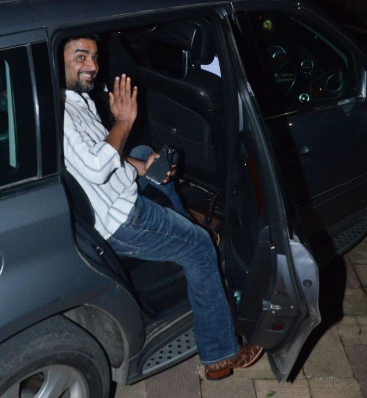 Bollywood: Photos: Friends celebrate Sanjay Dutt's 59th birthday in a midnight bash!