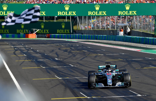 Hamilton extends lead with Hungarian Grand Prix win