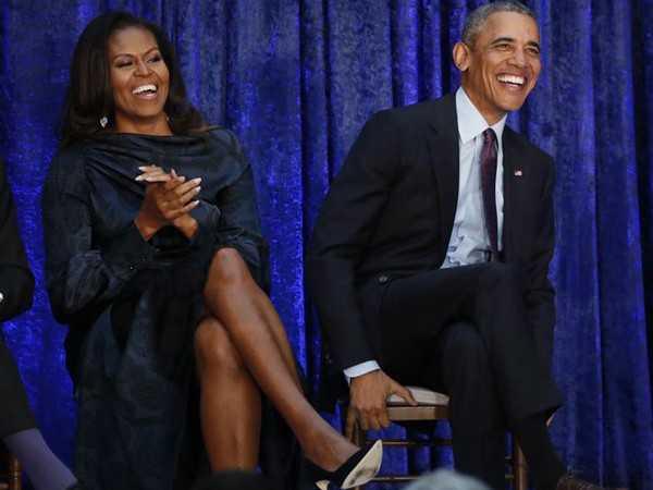 VIDEO: Barack, Michelle Obama shake a leg at Beyonce's concert