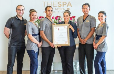 The spa at Souq Waqif Boutique Hotels wins top award