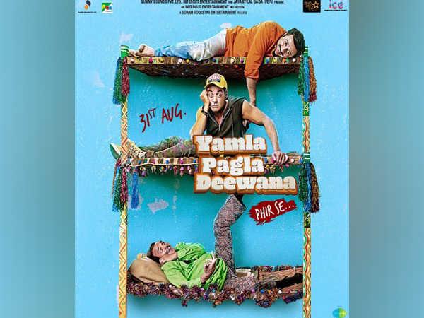 Sunny Deol shares poster of 'Yamla Pagla Deewana' sequel