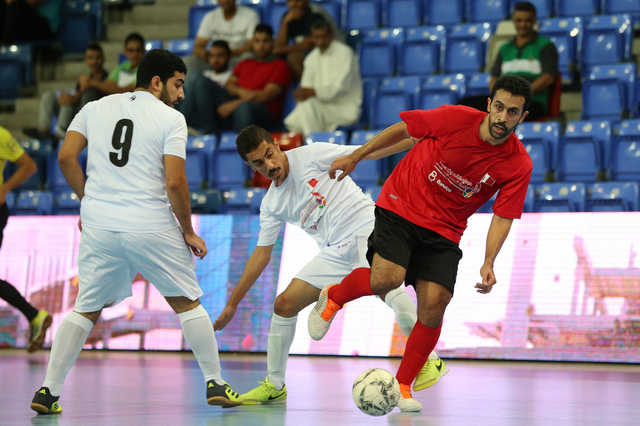 FUTSAL LEAGUE: Saar and A'ali to vie for title