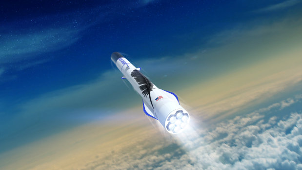 Jeff Bezos throws cash, engineers at rocket program as space race accelerates