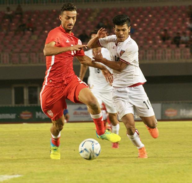 Alpine Cup: Bahrain held by Myanmar