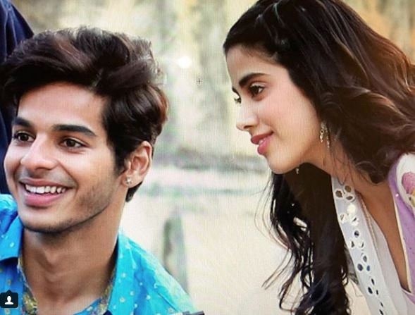 Ishaan, Janhvi are the new workout buddies