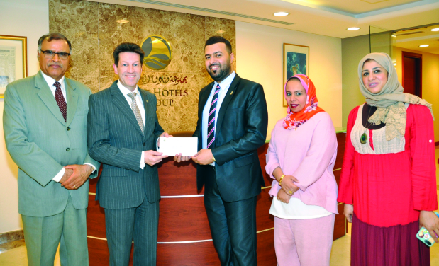 Gulf Hotels Group donates BD1,000 to Future Youth Society