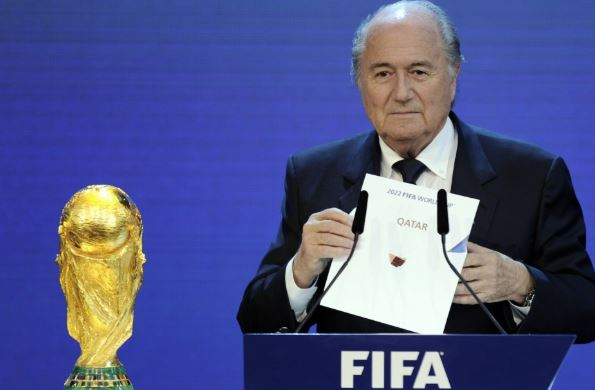 Qatar unqualified to host World Cup says Blatter