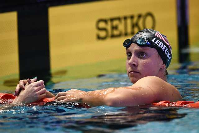 Mixed day for Ledecky at Pan Pacific