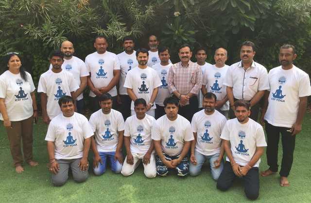 Indian Community Relief Fund organises yoga camp