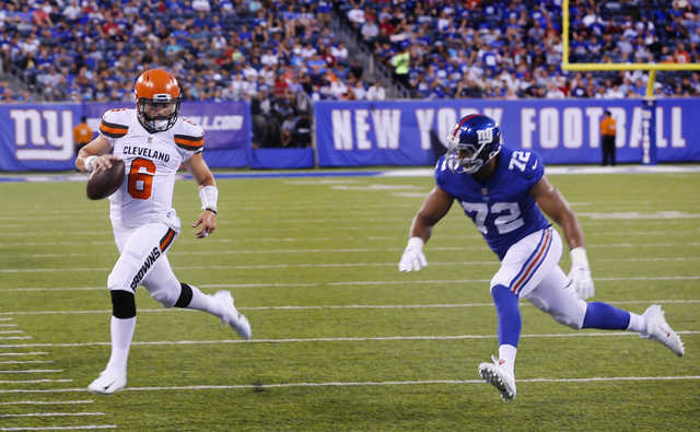 Mayfield plots Browns victory