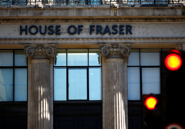 Troubled UK retailer House of Fraser snapped up by sports chain