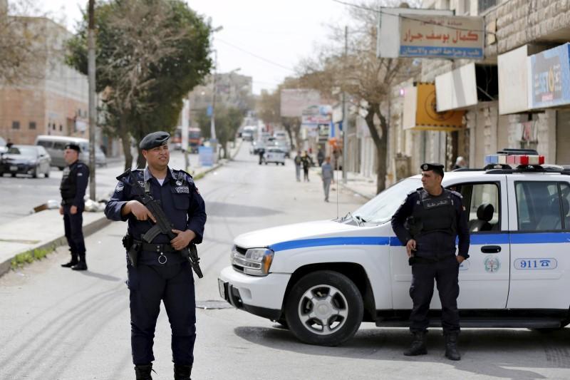 One dead, six injured in attack on Jordan security patrol