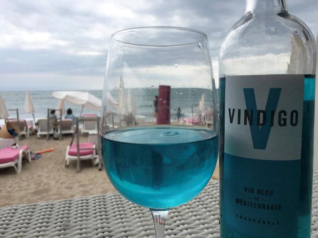 OMG: Sacre bleu! Blue wine makes a splash in southern France