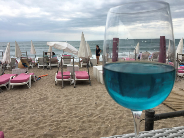 OMG: Sacre bleu! Blue wine makes a splash in southern France