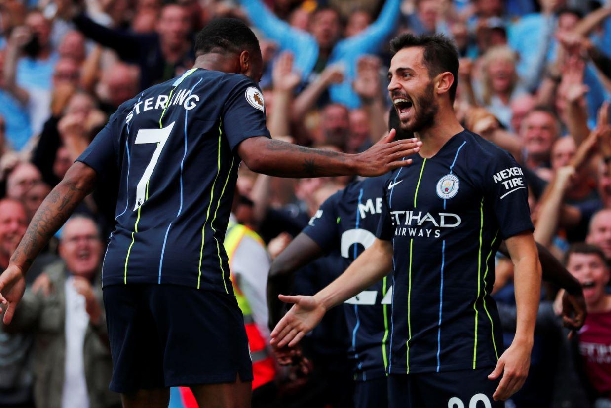 Football: PREMIER LEAGUE: Liverpool thrash West Ham, City start on winning note