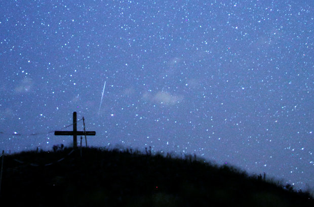 OMG: PICTURES: Meteor shower lights up skies over Bosnia