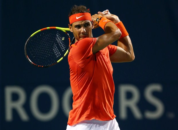 Nadal breezes into Rogers Cup final