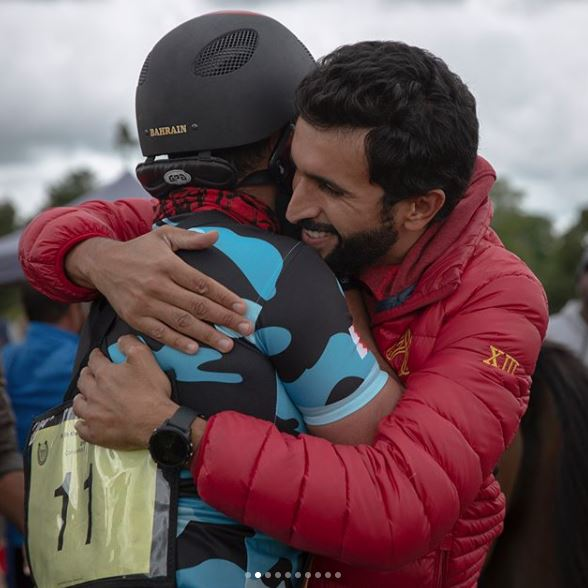 Other Sports: PICTURES & VIDEOS: Shaikh Khalid claims Sweden endurance title
