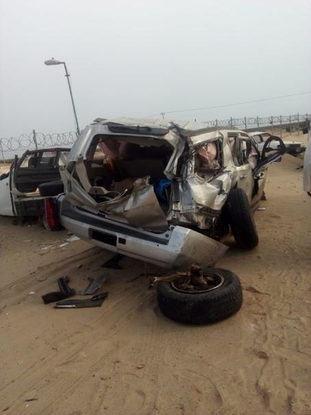 Two Saudi policemen killed in accident
