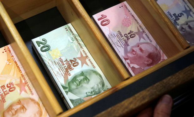 Turkish lira struggles in Asia but equities see some stability
