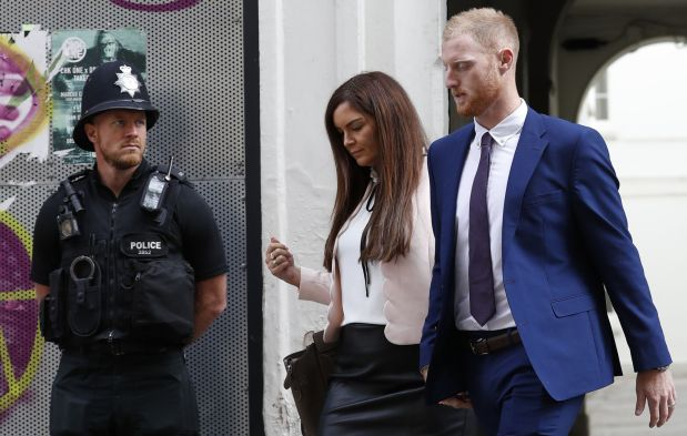 England cricketer Stokes found not guilty of affray over street fight -BBC