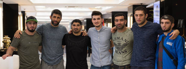 Fighters arrive in Morocco for Brave 14