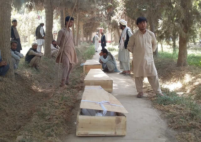 Dozens killed in Taliban attack on Afghan military outpost