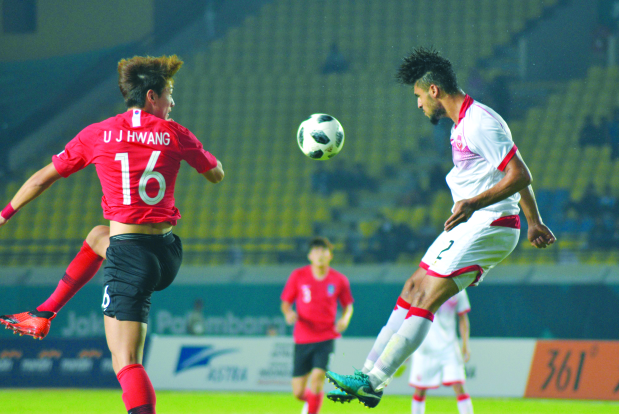 ASIAN GAMES: Korea slam six past Bahrainis