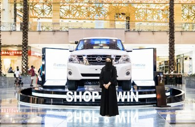 UAE national wins new Nissan Patrol at City Centre Mirdif