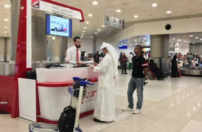 NAS introduces new baggage delivery service at Kuwait airport