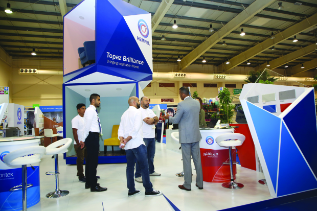 Best Expo Stands : Bahrain business: interiors expo highlights best stands