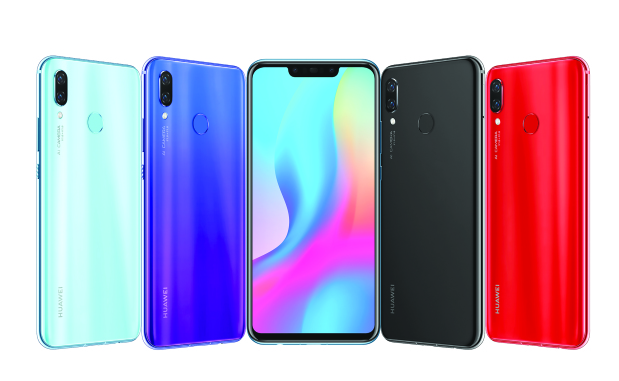 Huawei launches new AI phones