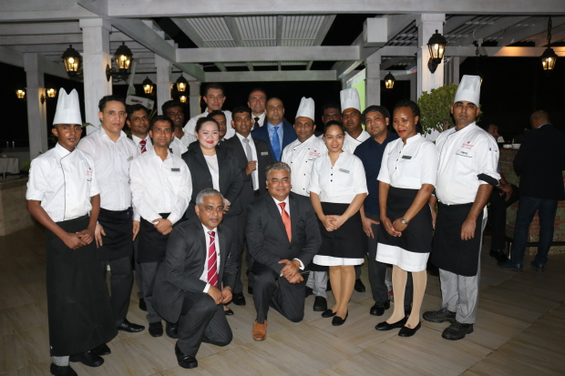 <p><em>Staff members and management during the opening.</em></p> <p>A new rooftop restaurant and lounge was launched at the Ramada Hotel and Suites Amwaj Islands.</p> <div>The cuisine at Ya Hala Restaurant and Lounge – influenced by the Middle East, modern Southern Europe to the Levant – is served up in a cosy and welcoming ambience with a view of the Amwaj Marina.</div> <div></div> <div>The restaurant also has live music and is open from5pmto2amon weekdays and from noon until2amon weekends.</div> <div></div>