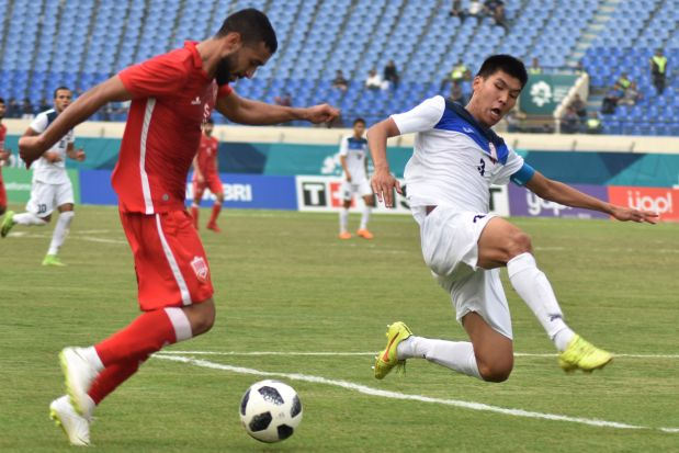 18th Asian Games: Bahrain rally to hold Kyrgyzstan
