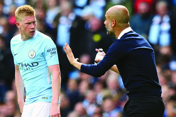 De Bruyne out for three months