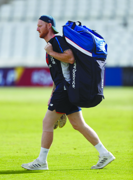 Stokes is back for England