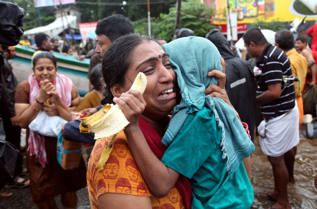 Kerala floods: NDRF rescues 194 people, evacuates over 10,000 till now
