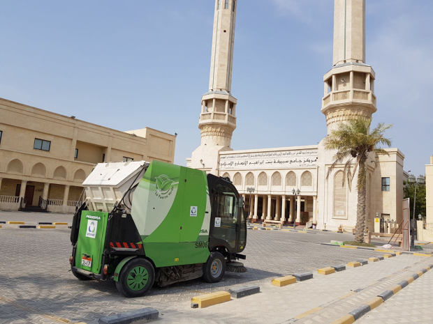 Clean-up drive at mosques in preparation for Eid Al Adha prayers