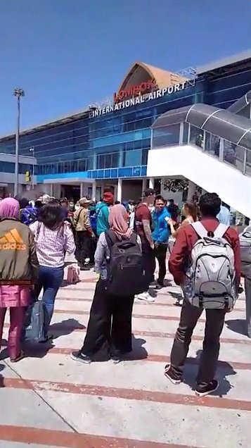 USGS: Fresh 6.9-magnitude earthquake hits Indonesia's Lombok