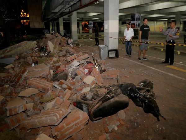 Strong 6.3 earthquake rocks Indonesia's Lombok island