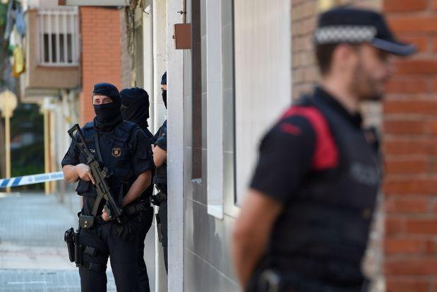 Spanish police treating knife assault as 'terrorist attack'