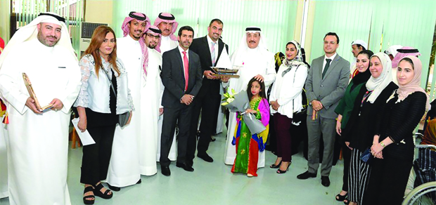 <p><em>Mr Humaidan with bank employees and members of the home</em></p><p>The National Bank of Bahrain (NBB) organised Eid Al Adha celebrations at the NBB Home for the Elderly in Isa Town.</p><div>The event featured traditional songs and dances as well as live cooking stations.</div><div><br></div><div>Present was Labour and Social Development Minister Jameel Humaidan who praised the bank for its support and initiatives to promote the well-being of the community.</div><p><em><br></em></p>