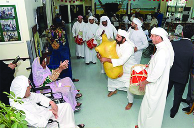 <p><em>The event featured traditional songs and dances.</em></p>