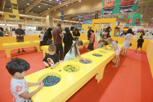 <p>The second edition of the Lego Festival will continue until August 31</p>