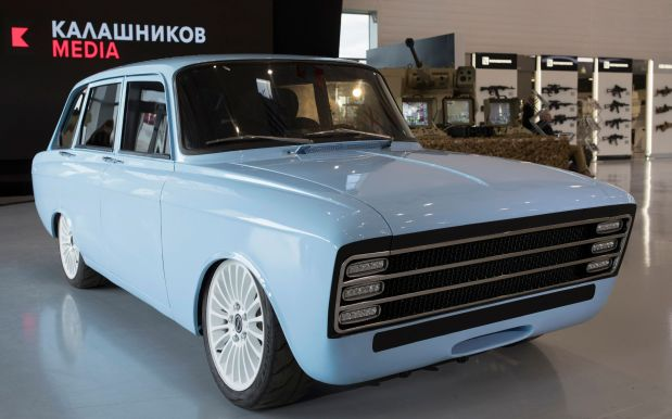 Move over, Musk: Kalashnikov unveils 'electric supercar'
