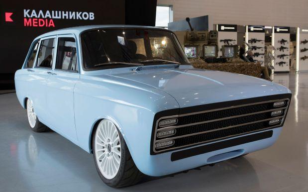 Move over, Musk: Kalashnikov unveils 'electric supercar'