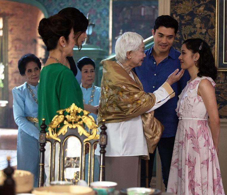 'Crazy Rich Asians' tops box office again